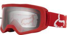 Race brýle Fox Main Race Goggle Red OS