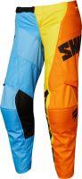 Dětské MX kalhoty Shift Youth Whit3 Tarmac Pant Orange/Blue
