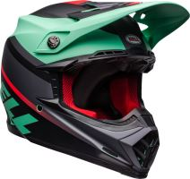 Motocyklová přilba Bell Bell Moto-9 Mips Prophecy Helmet Mt Green/Infrared/Black XL