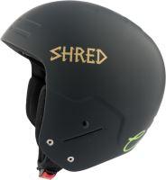 Zimní helma Shred Basher Noshock Lg - Lara Gut Signature Black/Gold