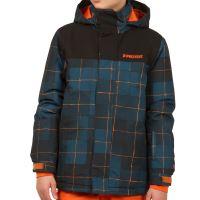 Chlapecká zimní bunda Protest DOODLE JR snowjacket Orange Pepper