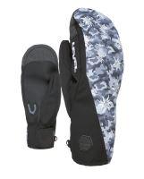 Pánské rukavice Level Matrix Duo Mitt Black-Grey 8.5 - ML