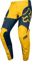 Pánské MX kalhoty Fox 180 Przm Pant Navy/Yellow 28