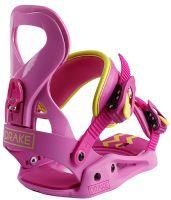Dámské vázání Drake Queen Yellow/Pink M