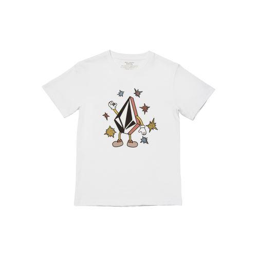 Dětské triko Volcom Fizz Stone Bsc Ss White