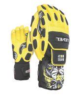 Pánské rukavice Level Worldcup CF Yellow