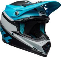Motocyklová přilba Bell Bell Moto-9 Mips Prophecy Helmet Mt White/Black/Blue XS