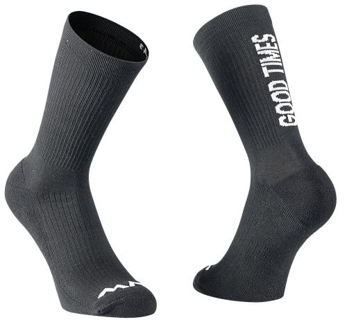 Cyklo ponožky Northwave Good Times Great Lines Sock Black