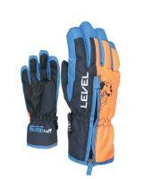 Dětské rukavice Level Dudy Blue III