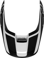 Náhradní kšilt Fox V1 Mx19 V1 Helmet Visor - Przm Black/White