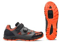 Dámské tretry Northwave Terrea Plus Wmn Anthracite/Lobster Orange